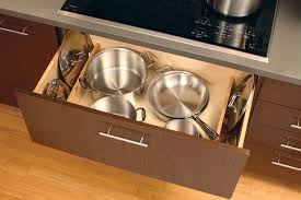 Kitchen Drawer Cabinets Pots U0026 Pans Storage Cookware Cabinets Dura Supreme Cabinetry