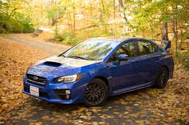 yellow subaru wrx 2017 subaru wrx sti review autoguide com news