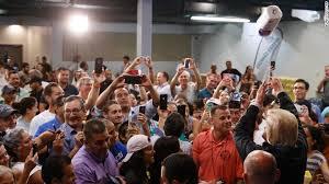 trump tosses paper towels puerto rico crowd cnnpolitics