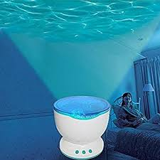 childrens night light projector niceeshop tm ocean wave night light projector and music player for