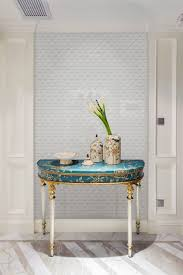 zip connection 2 u0027 u0027 white glossy triangle mosaic tile bathroom wall