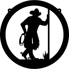dinner silhouette cowboy dinner cliparts free download clip art free clip art