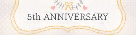 five year wedding anniversary gift awesome fifth wedding anniversary gift ideas pictures styles