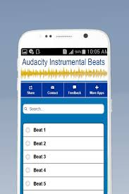 audacity apk free audacity instrumental beats apk 0 0 5