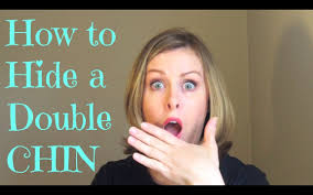 hairstyles to hide jowls how to hide a double chin youtube