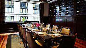 private dining chicago kimpton hotel allegro in downtown chicago