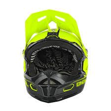 oneal motocross helmet o u0027neal fury rl helmet california black neon yellow mxweiss