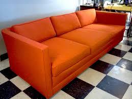 decor interesting henredon sofa for living room furniture ideas 3 seat henredon sofa in orange for living