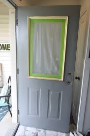 how to paint the front door adding curb appeal how to paint shutters and front door our house