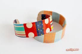mollymoocrafts quick craft craft stick bracelets