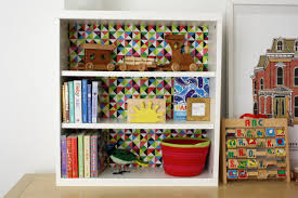 how to decoupage paper onto the back of a shelf how tos diy