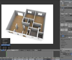 free blender tutorial create a 3d floor plan from an architectural
