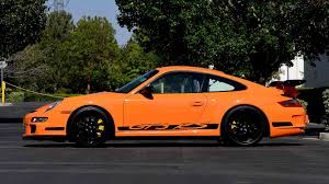porsche 911 orange 2007 porsche 911 gt3 rs s144 monterey 2016