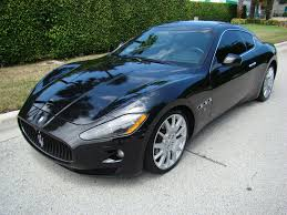 maserati gt black maserati granturismo for sale