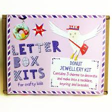 donut jewellery making kit u2013 necklace kit u2013 keyring craft kit