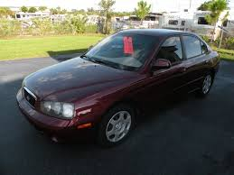2001 hyundai elantra gls 2001 hyundai elantra gls for sale in fort myers fl stock 074663