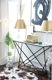 White Foyer Table Marble Console Table For Your Entryway And How To Style It Besa Gm