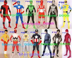 Dragonfly Halloween Costume Fancy 12 Style Superhero Suit Costumes Unisex Lycra Deadpool