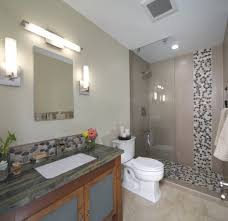 river rock bathroom ideas inspired river rock bathroom remodel this is an