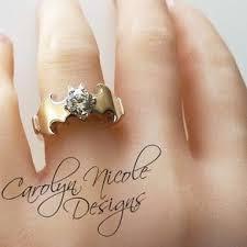 batman engagement rings batman engagement ring by carolyn batman themed wedding