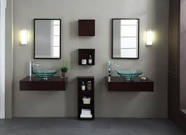 Bathroom Vanity Wall Mount Modern Blox 84 Inch Wall Mounted Bathroom Vanity Set