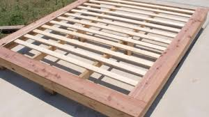 wood bed frames for king size beds ideas youtube