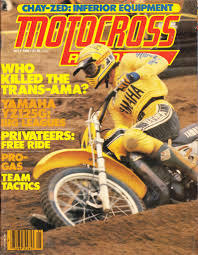 motocross action magazine mike bell on the cover of motocross action magazine 1980 flickr
