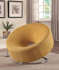 yellow fabric accent chair steal a sofa furniture outlet los