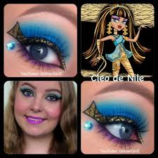 monster high makeup videos cleocleo de nile makeup tutorial monster high doll you