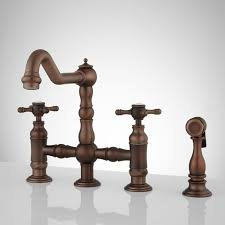 Kitchen Faucets Oil Rubbed Bronze Kitchen Faucets Signature Hardware