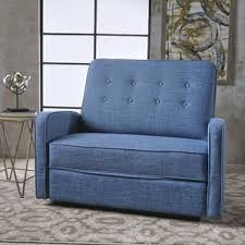 blue recliners you u0027ll love wayfair