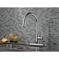 Delta Pull Down Kitchen Faucet by Delta Faucet 9159 Ar Dst Trinsic Arctic Stainless Pullout Spray
