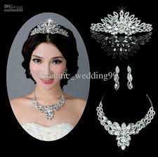 2015 new collection brand new wedding jewelry made