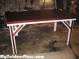 Game Table Plans Diy 4x6 Game Table Myoutdoorplans Free Woodworking Plans And