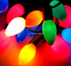 Colored Christmas Lights by My Big Fat Christmas Lights