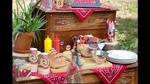 Cowboy Table Decorations Ideas Elegant Western Party Decoration Ideas Youtube