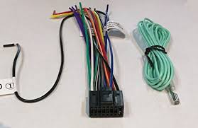 amazon com wire harness for jvc kdhdr44 kdhdr52 kdr320 kdr328