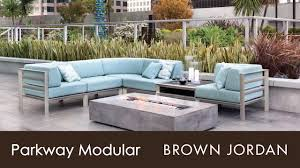 Richard Frinier Brown Jordan by Brown Jordan Parkway Modular Collection Youtube