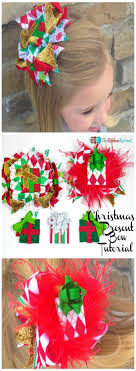 christmas present bows present bow the ribbon retreat