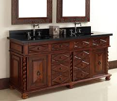 mediterranean style bathroom vanities a more antique vanity