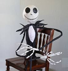 running with scissors nightmare before christmas life size jack