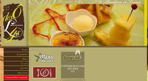 site de cuisine gastronomique restaurant traiteur cuisine traditionnelle et spécialités de
