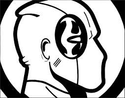 deadpool face coloring page wecoloringpage