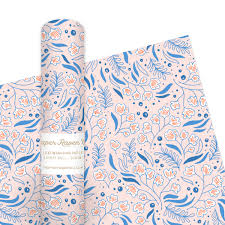 wrapping paper blue bell tapestry wrapping paper paper co