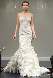 lazaro wedding dresses fall 2014 bridal runway shows brides
