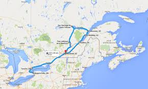 Google Maps Canada by 2 Weeks In East Canada Taste Reunion