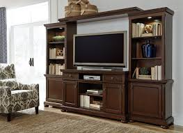 porter large entertainment wall unit from ashley w697 132 33 34