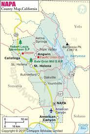 california map napa napa county map map of napa county california