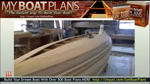 wooden boat building free wooden model boat plans youtube