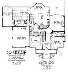 colonial style floor plans harbormont house plan house plans by garrell associates inc